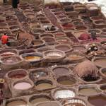 """Morocco Tannery Vats Fez"" by Ken"