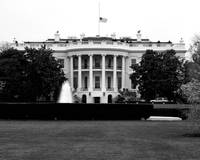White House in Black and White