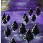 """Purple Forest 1"" by SandyWager"