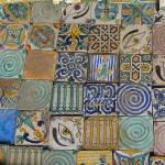 """Painted ceramic tiles"" by gregrobbins"