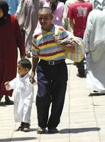 Off to school in Marrakech