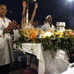 """Djemaa el Fna restaurant"" by gregrobbins"