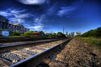 Toronto / CN Rails and Tower HDR