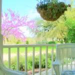 """Veranda - Porch in Spring"" by Philippa"