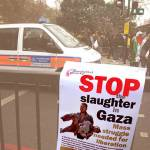 """Stop the slaughter in Gaza"" by kombizz"