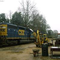 CSX SD40-2 8449 Art Prints & Posters by C. S. Jackson