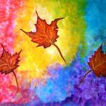 """""""Autumn Bliss Leaves to Kiss"""" by mkanvinde"""