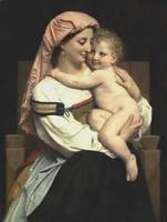 Bouguereau William Femme de Cervara et Son Enfant_