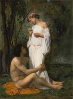Bouguereau William Idylle 1851
