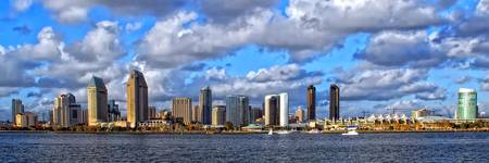 Downtown San Diego's Waterfront Skyline