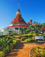 Hotel Del Coronado Photography/Color Fine Art