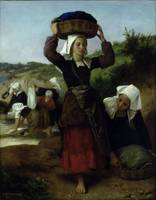 Bouguereau  William Washerwomen of Fouesnant 1869