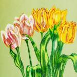 """""""Bed of Tulips"""" by clovia"""