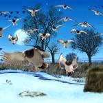 """Lots of Ducks"" by fishead"