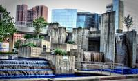 Inner Harbor - Waterfall