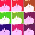 """Warhol Cat"" by crazyabouthercats"