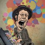 """Tom Waits"" by mariozuccaillustration"