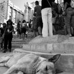 """Sleeping Dog, Acropolis, Athens"" by bhneely"