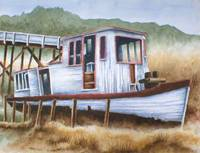ST.MARIES TUG-Watercolor