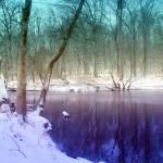 """""""Deep Blue Winter"""" by WVUARTIST"""