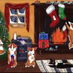 """The Night Before Christmas original Pembroke Welsh"" by shaggycreations"