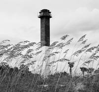 Sullivans Island Light Black & White