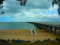 Pier At Urangan Queensland Australia