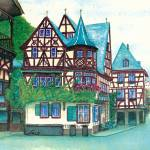 """""""crooked house"""" by heartfeltcreations"""