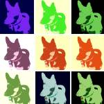 """Macksie Warhol"" by crazyabouthercats"