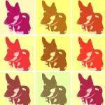 """Macksie Warhol 2"" by crazyabouthercats"