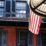 """French Quarter - American Flag"" by Photo2217"