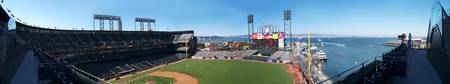 AT&T Baseball Park And San Francisco Bay