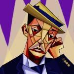 """""""Buster Keaton"""" by redd"""