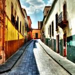 """Callejon HDR - Tone mapped - Alley"" by tiquis"