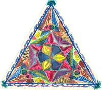 triangle mosaic