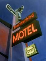 Paintings - Thunderbird Motel