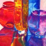 """Reflections Still Life"" by ArtbyMarionHedger"