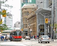 Street Car at Victoria and Queen
