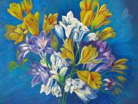 Spring Freesias Posy