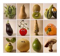 fruits & vegetables with eyes#1