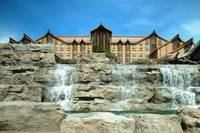 Casino Rama waterfall
