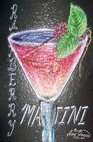martini stained glass