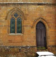 cotswold church window