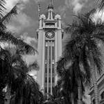 """Aloha Tower, Honolulu, Hawaii, June 2004"" by eightarts"