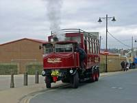 Elizabeth, Steam Bus at Whitby  (15620-RDB)