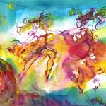 """CARNIVAL NIGHT / Venetian Masquerade,Dance Music"" by BulganLumini"