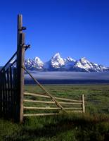 Tetons and Open Gate