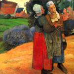"""Bretoni Farmers Wives"" by ArtLoversOnline"
