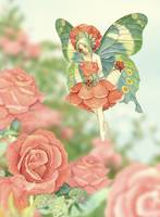 Fairy in the Rose Garden