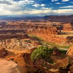 """Dead Horse Point Panorama"" by pbk"